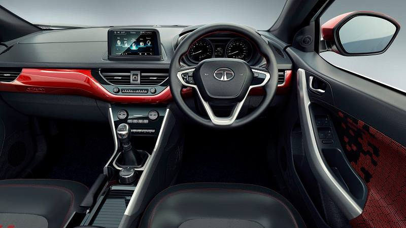 tata nexon price mileage interior specs features. Black Bedroom Furniture Sets. Home Design Ideas