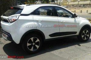 Tata Nexon Top-end Model Spied