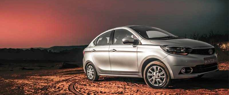 Tata Tigor Styleback India front-rear