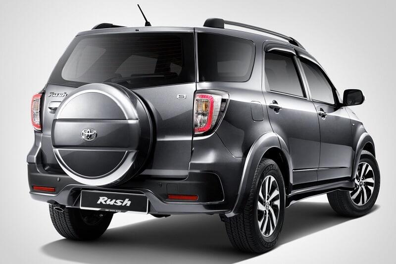 Toyota Rush India price