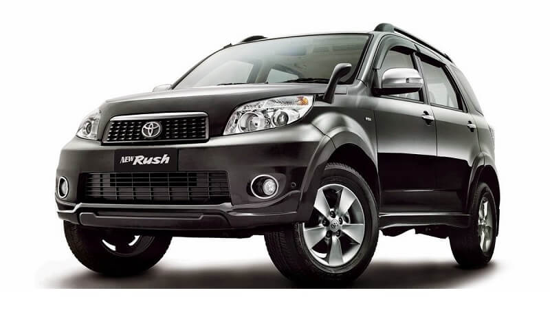 Toyota Rush India specs