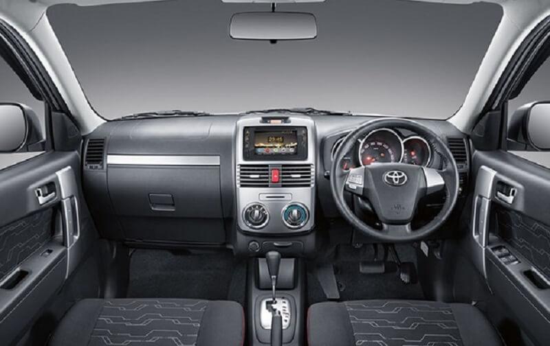 Toyota Rush India interior