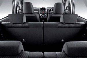 Toyota Rush India seating capacity