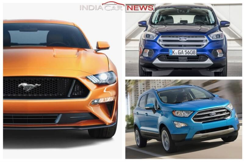 upcoming ford cars in india in 2017 and 2018