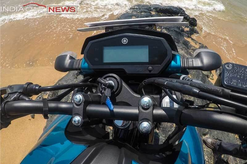 Yamaha FZ25 Review Instrument Cluster