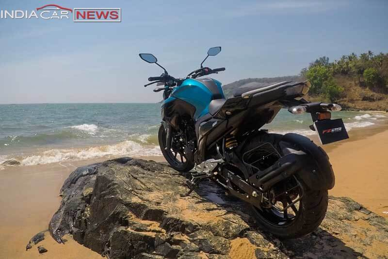 Yamaha FZ25 Review Rear