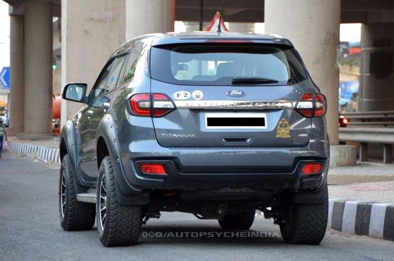 This Modified Ford Endeavour Is India S Most Powerful Suv