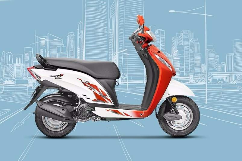 2017 Honda Activa i BS4 side profile