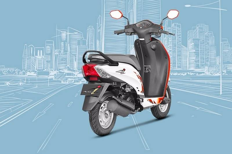 2017 Honda Activa i BS4 rear