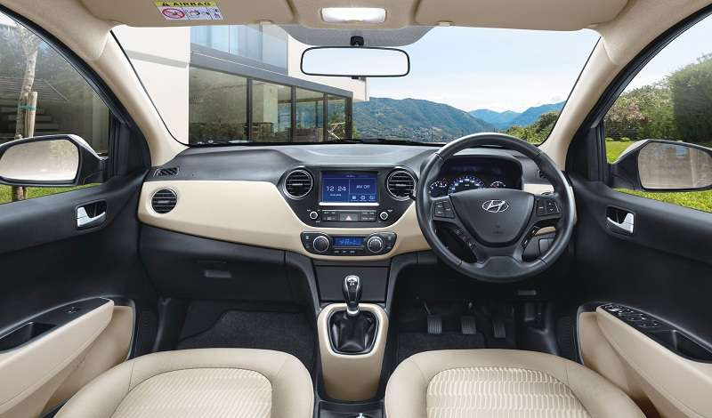Hyundai Xcent 2017 Price Specifications Interior