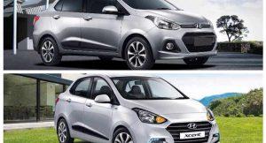 2017 Hyundai Xcent Vs Xcent Prime