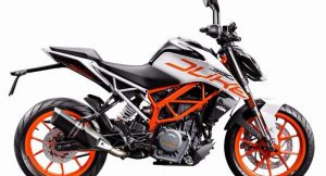 2017 KTM Duke 390 White Edition