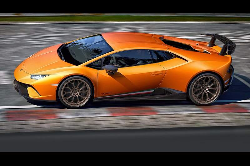 2017 Lamborghini Huracan Performante India