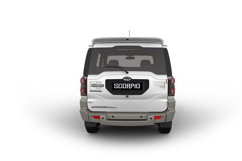 2017 Mahindra Scorpio Adventure Rear