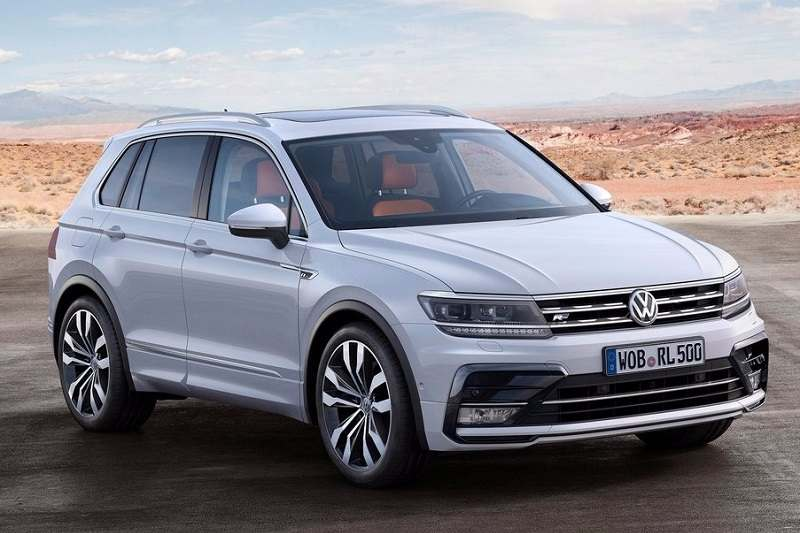 2017 Volkswagen Tiguan engine specifications