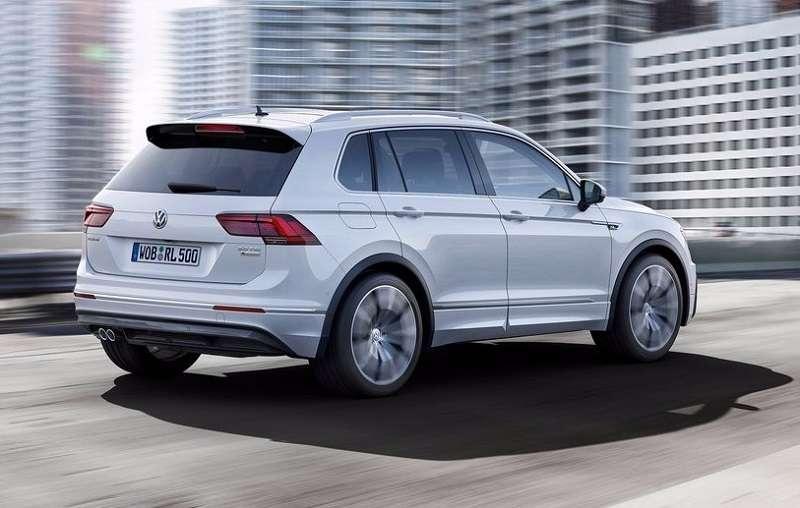 2017 Volkswagen Tiguan rear