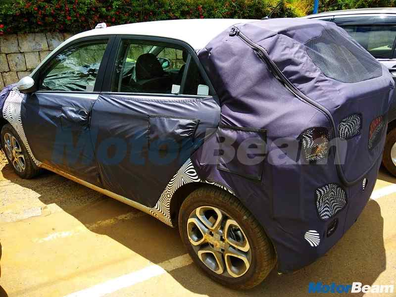 2018 Hyundai Elite i20 facelift Spied rear