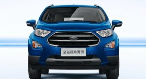 Ford EcoSport 2017 China Front