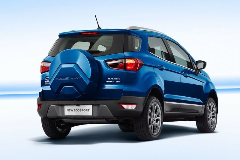 Ford Ecosport  China Rear
