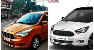 Ford Figo Vs Figo Sports