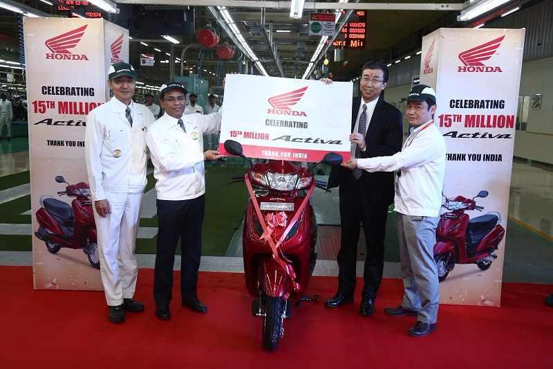 Honda Activa milestone