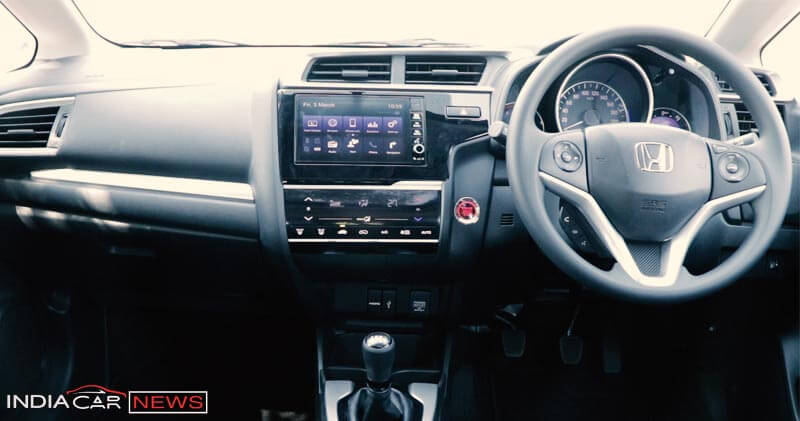 Honda WRV Interior Review