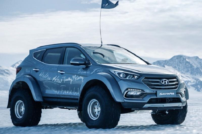 Hyundai Santa Fe On Antarctic Expedition 3