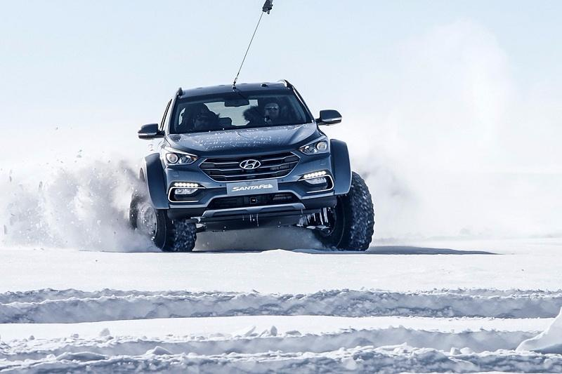 Hyundai Santa Fe On Antarctic Expedition 4