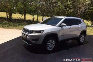 Jeep Compass India Debut