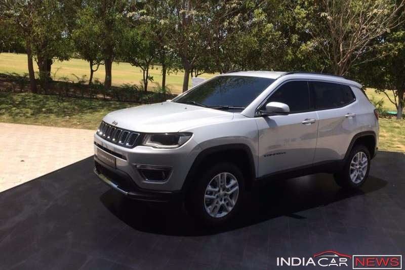 jeep compass price in india launch specs interior images. Black Bedroom Furniture Sets. Home Design Ideas