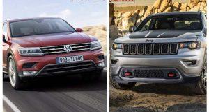 Jeep Compass Vs Volkswagen Tiguan