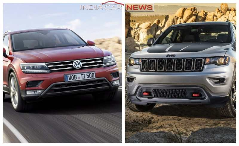 Jeep Compass Vs Volkswagen Tiguan