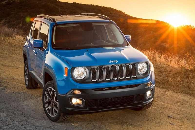 Upcoming cars under 15 lakhs - Jeep Renegade