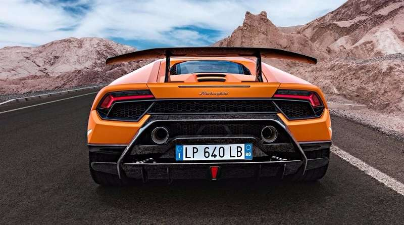 Lamborghini Huracán Performante India 2