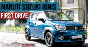 Maruti Ignis Video