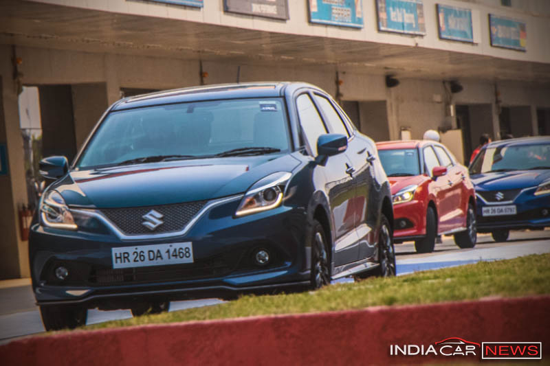 Maruti Baleno RS interior review