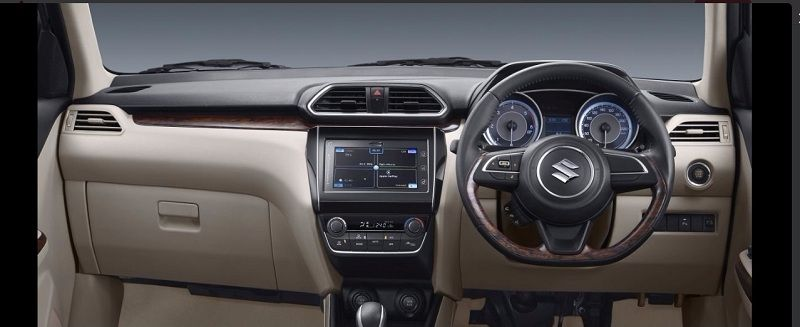 New Maruti Dzire 2017 Interior