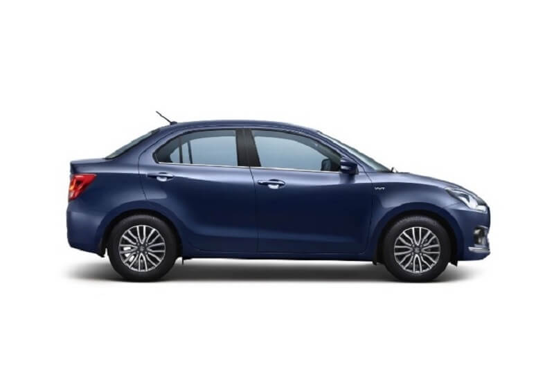 New Maruti Dzire 2017 Side Profile