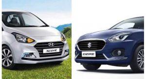 New Maruti Dzire Vs 2017 Hyundai Xcent