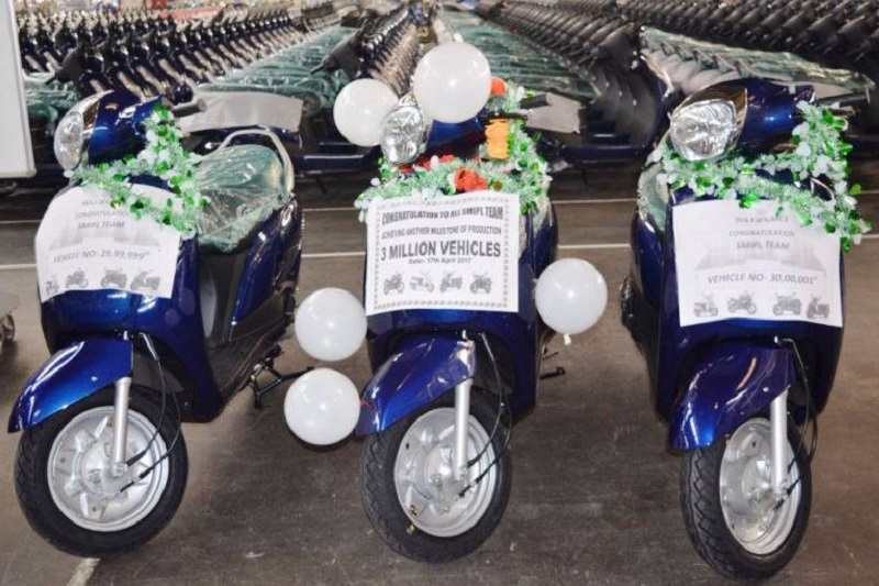Suzuki 3 Million Production Milestone