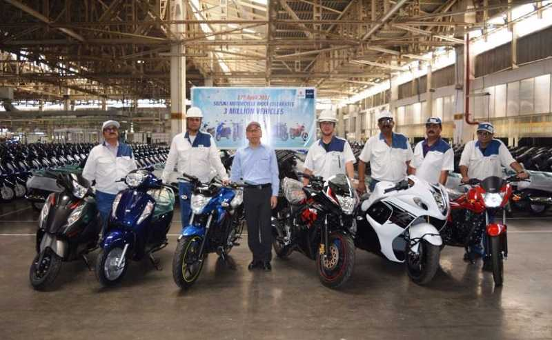 Suzuki Production Milestone