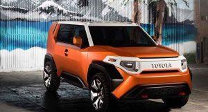 Toyota FT-4X Concept SUV