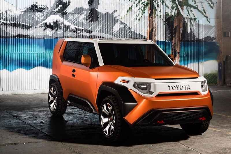 toyota ft 4x suv concept revealed images details. Black Bedroom Furniture Sets. Home Design Ideas