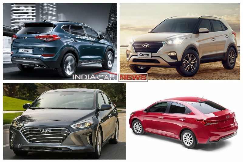 hyundai new car release in indiaUpcoming New Hyundai Cars in India in 2017 2018