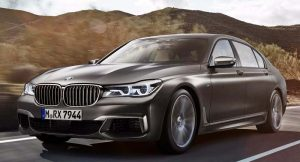 2017 BMW M760Li India front profile