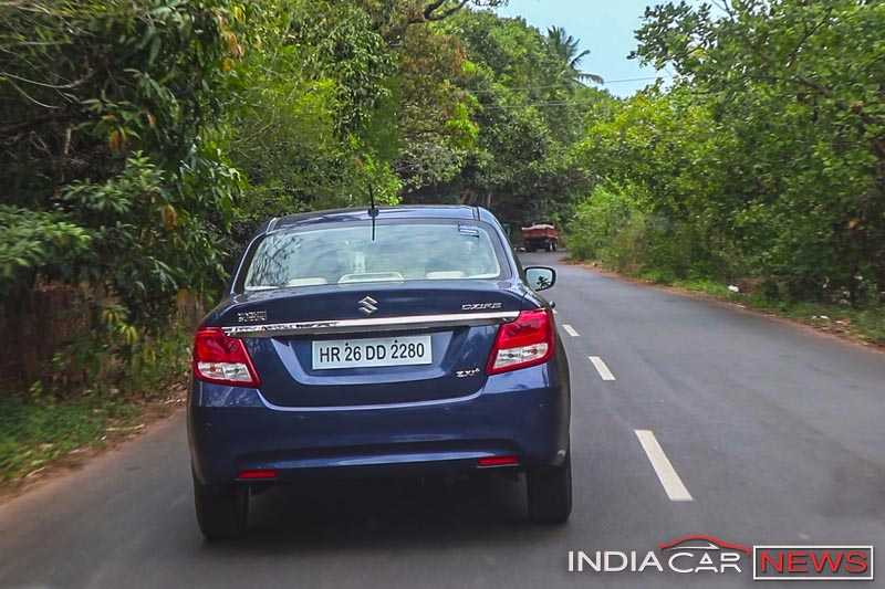 2017 Maruti Dzire Road Test Review