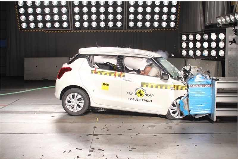 2018 Maruti Suzuki Swift Euro NCAP crash test