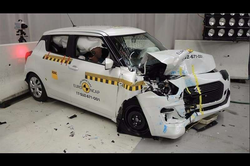 2018 Maruti Swift Euro NCAP crash test