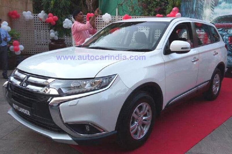 2017 Mitsubishi Outlander Spied India