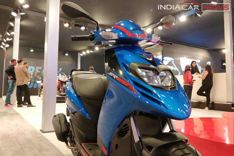 Aprilia SR 125 Specifications